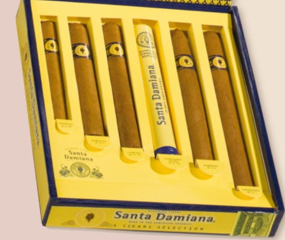 Santa Damiana Sampler 6er