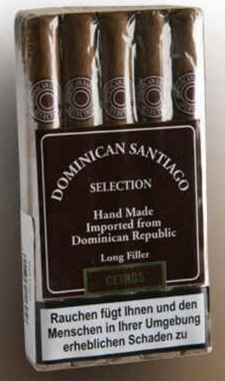 Dominican Santiago Selection (DSS) Robustos