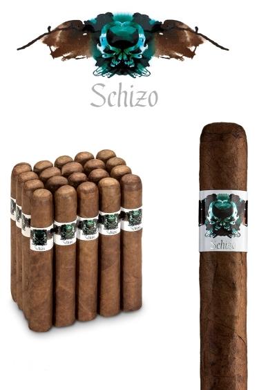 asylum cigars schizo toro gordo 60x6. Black Bedroom Furniture Sets. Home Design Ideas